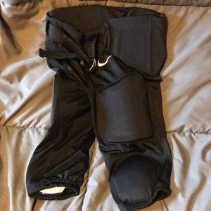 Youth Small Black Padded NIKE Football Pants